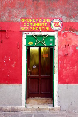 Photograph - Communist Cell by Valentino Visentini