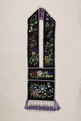 Beadwork Mixed Media - Community Bandolier Bag 2013 by Douglas K Limon