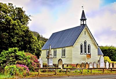 Photograph - Community Church Dover by Wallaroo Images