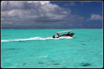 Commute Of Bora Bora  Art Print by Nick Difi