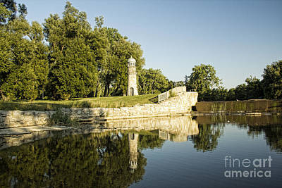 Como Lake Park Art Print by Jim Lepard
