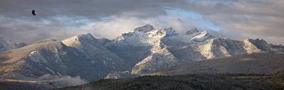 Art Print featuring the photograph Como Peaks Montana by Joseph J Stevens