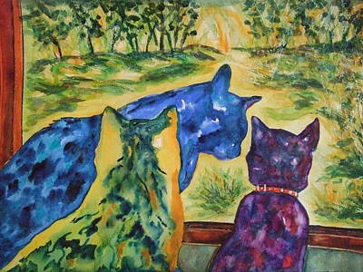 Painting - Companions by Kim Shuckhart Gunns