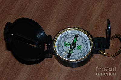 Photograph - Compass by Mark McReynolds