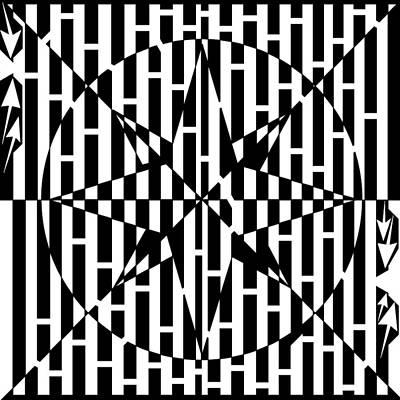 Drawing - Compass Roze Maze by Yonatan Frimer Maze Artist