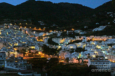 Photograph - Competa In The Twilight by Rod Jones