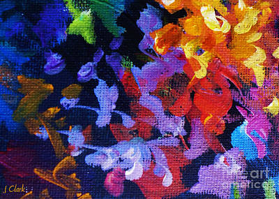 Vivid Colour Painting - Complementary by John Clark
