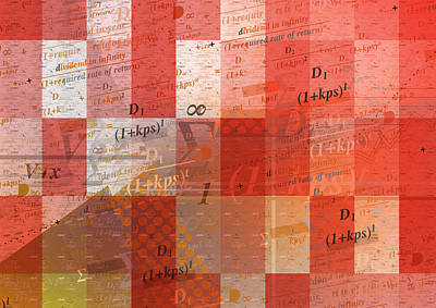 Accountancy Wall Art - Photograph - Complex Formulae For Calculating Rate by Ikon Ikon Images