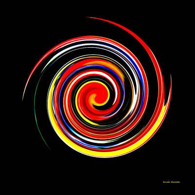 Digital Art - Complex Simplicity by Gunter Nezhoda