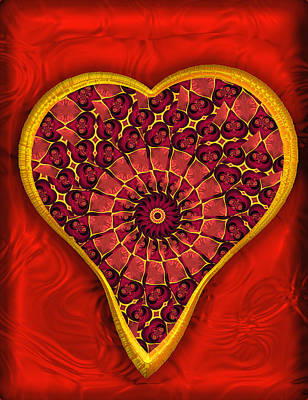 Digital Art - Complications Of The Heart by Wendy J St Christopher