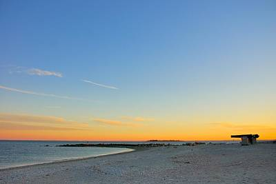 Landscape Photograph - Compo Beach by Steven Richman
