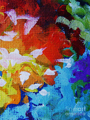 Vivid Colour Painting - Composed by John Clark
