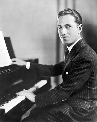 Composer George Gershwin Art Print by Underwood Archives