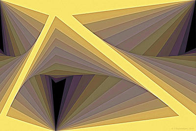Mathematical Digital Art - Composition 122 by Terry Reynoldson