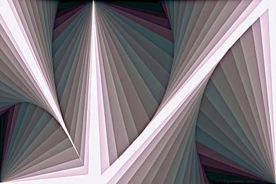Digital Art - Composition 128 by Terry Reynoldson