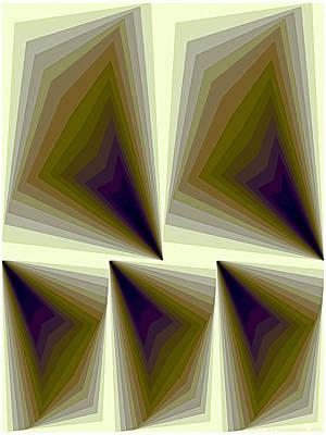 Composition 166 Art Print