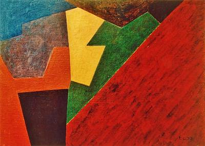 Painting - Composition 1972 by Karl Leonhardtsberger