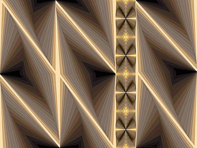 Composition 236 Art Print by Terry Reynoldson