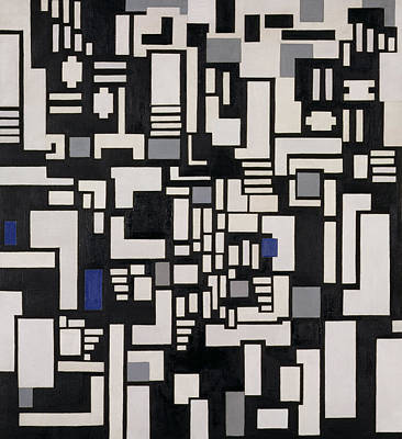 Composition Ix Art Print by Theo Van Doesburg