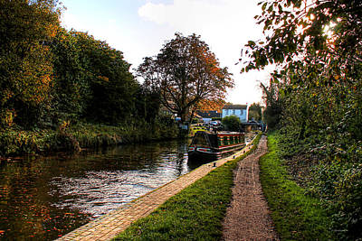 Photograph - Compton Canal by Sarah Broadmeadow-Thomas