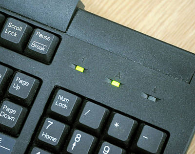 Familiar Object Photograph - Computer Keyboard by Public Health England