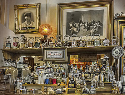 Photograph - Comstock Saloon by Maria Coulson