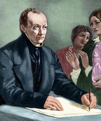 Comte, Auguste (montpellier Art Print by Prisma Archivo