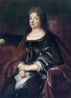 Painting - Comtesse De La Fayette (1634-1693) by Granger