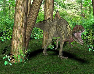 Paleozoology Photograph - Concavenator Dinosaur by Friedrich Saurer