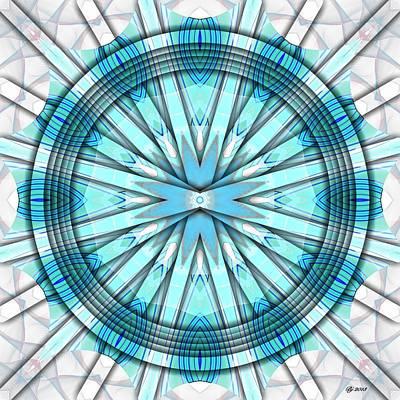 Concentric Eccentric 3 Art Print by Brian Johnson
