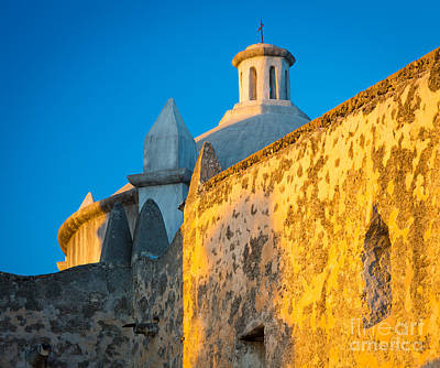 United States Mission Church Photograph - Concepcion Walls by Inge Johnsson