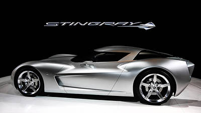 Concept Stingray Art Print by Peter Chilelli