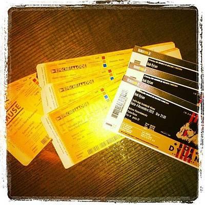 Concert Photograph - Concert 2013 #concert #tour #tiket by Vale Di