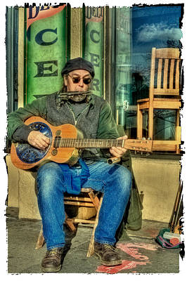 Photograph - Concert At The Deli by David Patterson