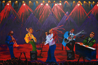 Concert Of All Concerts Art Print by Portland Art Creations