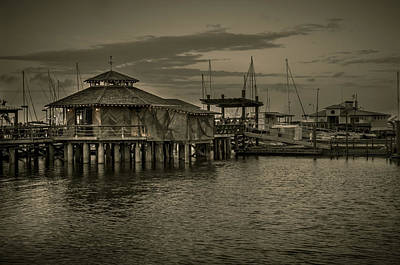 Conch House Marina Art Print