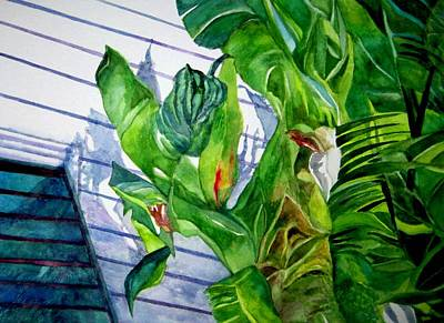 Painting - Conch House Tour by Kandy Cross
