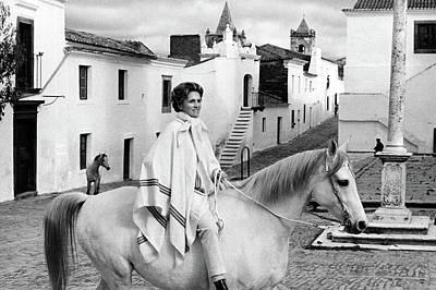 Bullfighter Photograph - Conchita Cintron Riding A Horse by Henry Clarke
