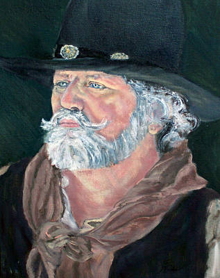 Painting - Concho by CJ  Rider