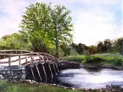 Concord Bridge Art Print