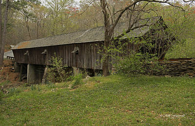 Photograph - Concord Covered Bridge by Mike Fitzgerald