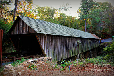 Photograph - Concord Covered Bridge by Reid Callaway