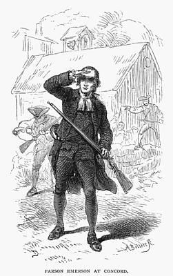 Concord: Minuteman, 1775 Art Print by Granger