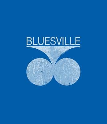 Concord Digital Art - Concord Music - Bluesville Distress by Brand A