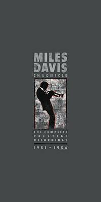 Concord Digital Art - Concord Music - Miles Silhouette by Brand A