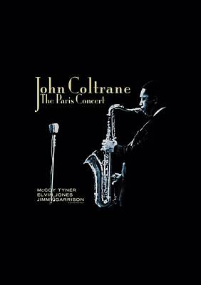 John Coltrane Digital Art - Concord Music - Paris Coltrane by Brand A