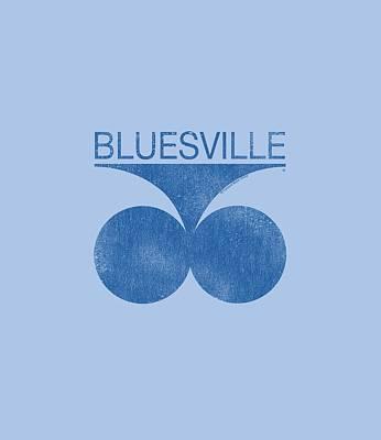 Concord Digital Art - Concord Music - Retro Bluesville by Brand A