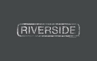Concord Digital Art - Concord Music - Riverside Distressed by Brand A