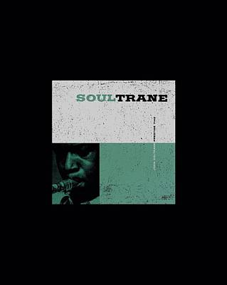 John Coltrane Digital Art - Concord Music - Soultrane by Brand A