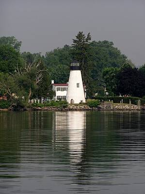 Photograph - Concord Point Lighthouse by Christopher James